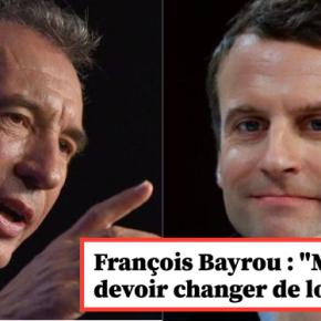 «Le bordel #EnMarche c'est Maintenant!» #Bayrou cocu…